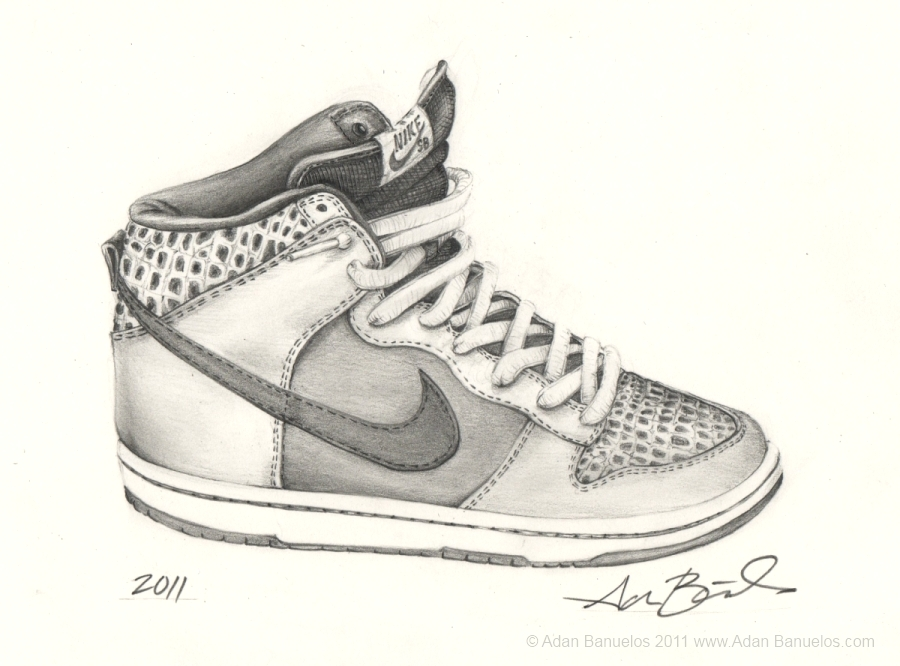 drawing shoes nikes wwwimgkidcom the image kid has it