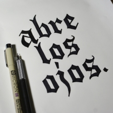 Typography Drawings